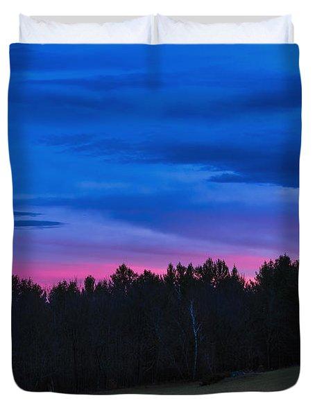 Twilight Field Duvet Cover