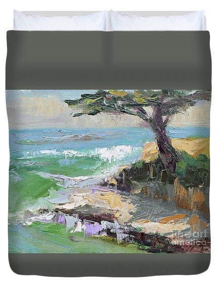 Twilight In Santa Cruz Duvet Cover