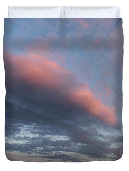 Twilight In The Wilderness Duvet Cover