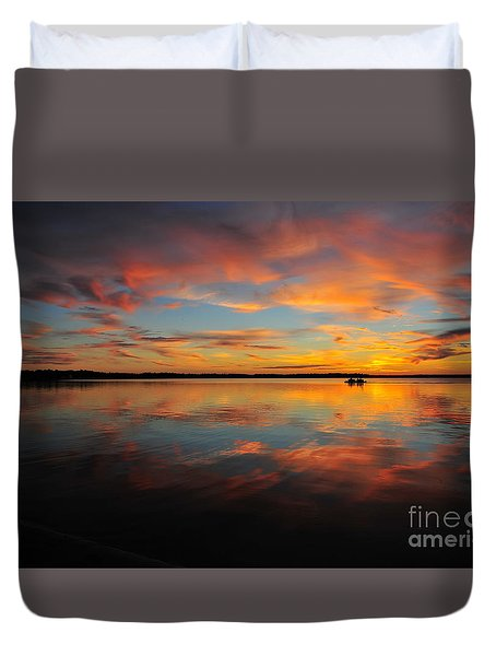 Twilight Reflection Duvet Cover