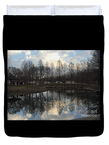 Twilight Reflections Duvet Cover