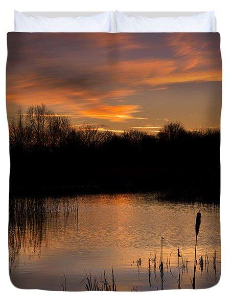 Twilight Reflections Duvet Cover