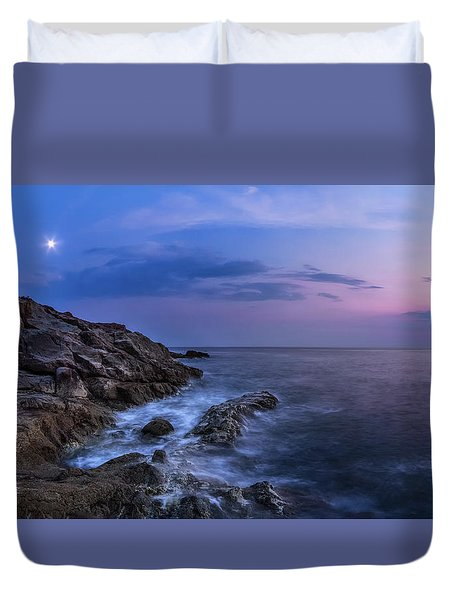 Twilight Sea Duvet Cover