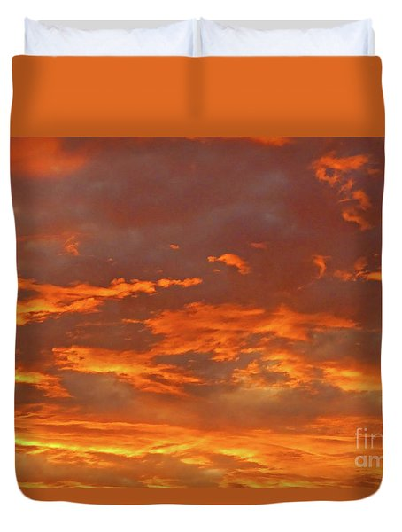 Twilight Sky Duvet Cover