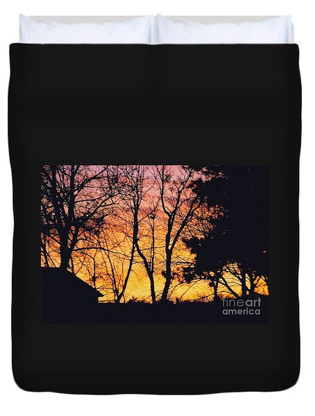 Twilight Sunset Duvet Cover