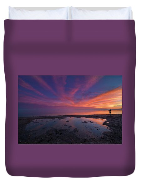 Twilight Time Duvet Cover