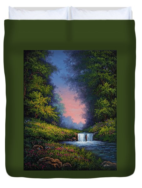 Twilight Whisper Duvet Cover