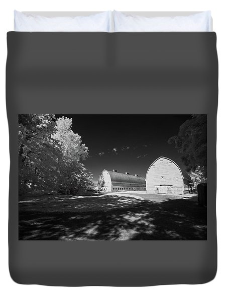 Twin Barns Duvet Cover