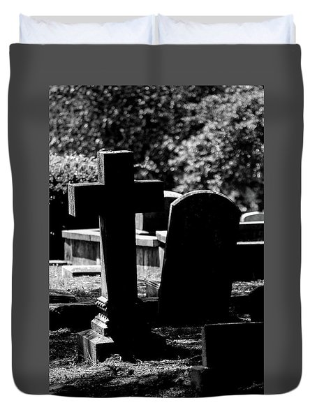 Twin Graves Duvet Cover