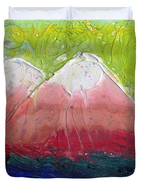 Twin Peaks II Duvet Cover