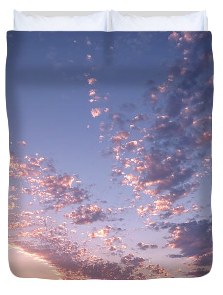 Twin Sisters Sunset Duvet Cover
