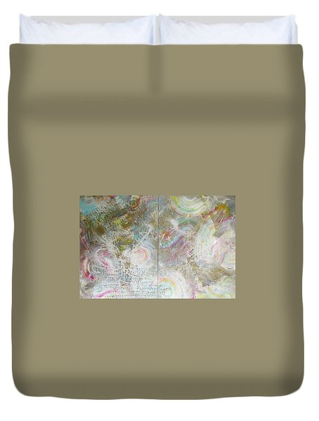 Twin Spica Duvet Cover