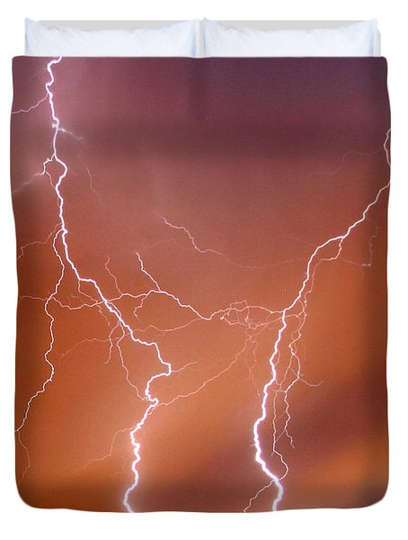 Twin Strike Duvet Cover