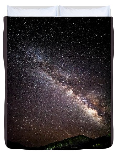 Duvet Cover featuring the photograph Twinkle Twinkle by Ryan Weddle
