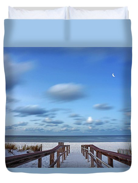 Twinkling Stars Duvet Cover by Don Spenner