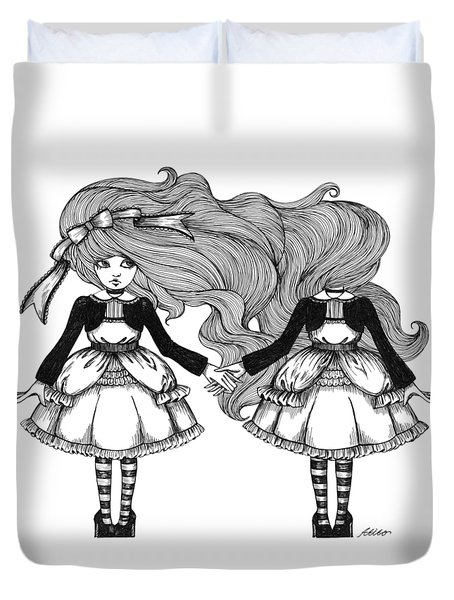 Twins Alice Duvet Cover