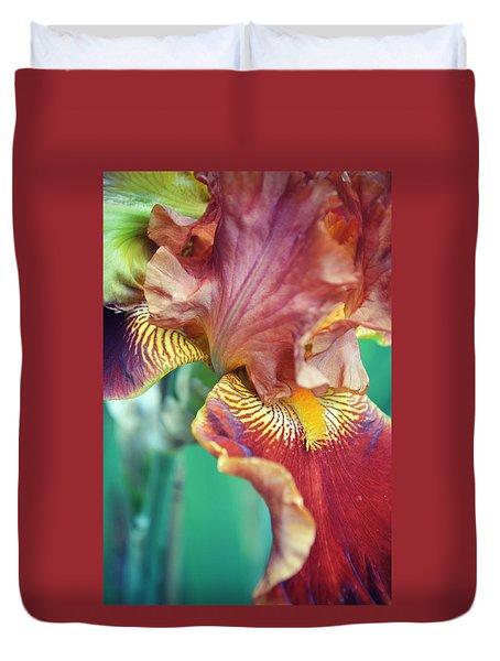 Twirling Romantic Duvet Cover