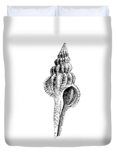 twirly Shell Duvet Cover