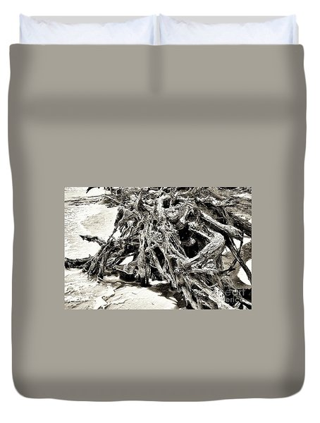 Twisted Driftwood Duvet Cover