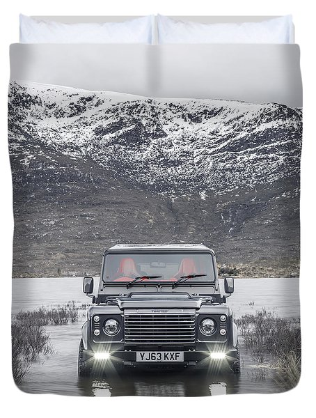 Twisted Land Rover Defender Duvet Cover
