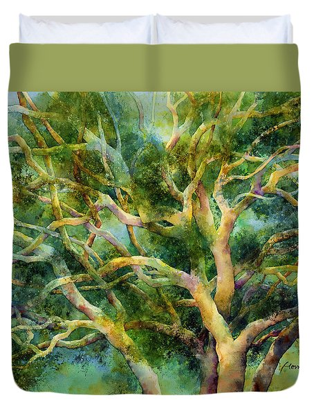 Twisted Oak Duvet Cover