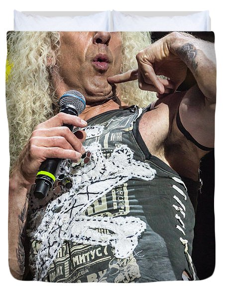 Twisted Sister - Dee Snider Duvet Cover
