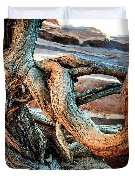 Twisted Tree Duvet Cover