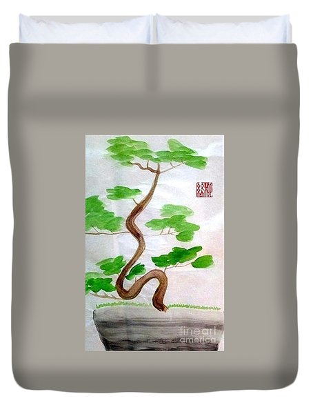 Twists And Turns Of Life Duvet Cover