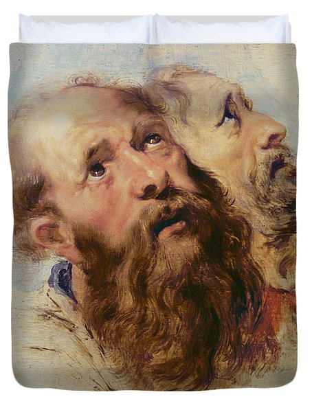 Two Apostles Duvet Cover by Rubens