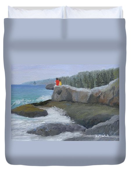Two Brothers Duvet Cover