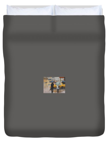 Two Curbside Duvet Cover