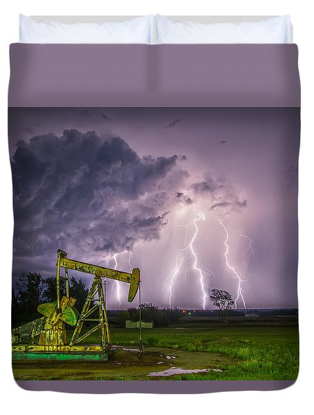 Two Ellements  Duvet Cover