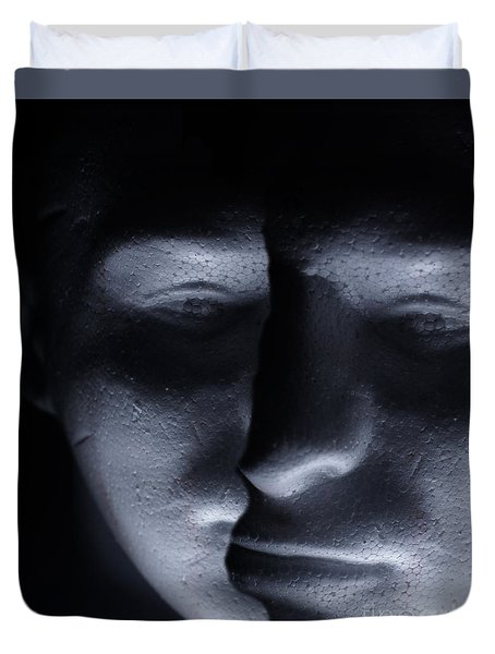 Two Faced Shadow Duvet Cover
