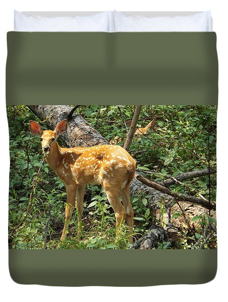 Two Fawn Duvet Cover