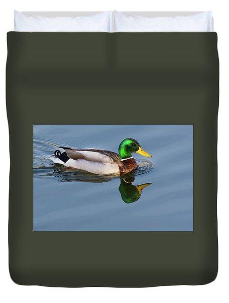 Two Headed Duck Duvet Cover