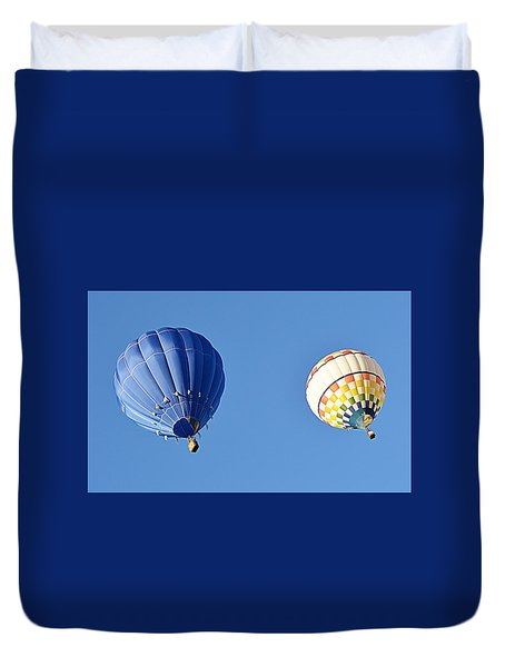 Two High In The Sky Duvet Cover