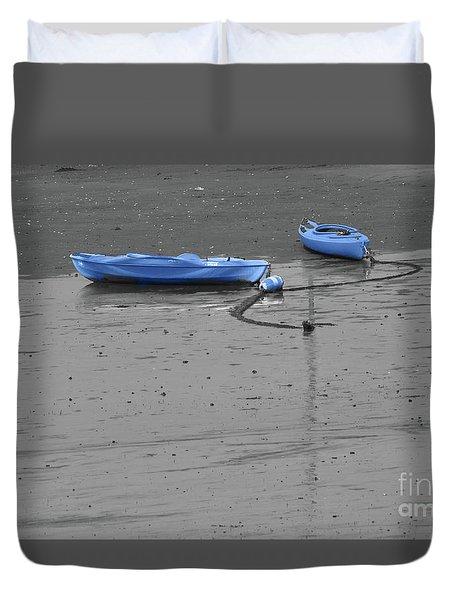 Two Kayaks Duvet Cover
