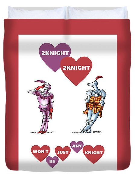 Two Knight Two Knight Duvet Cover