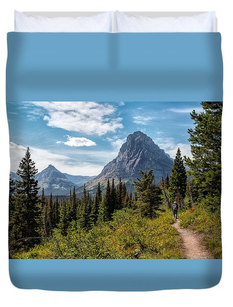 Two Medicine Valley Duvet Cover