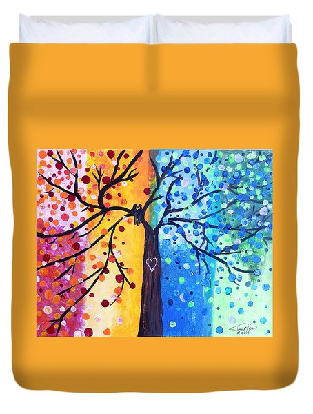 Two Moments Duvet Cover