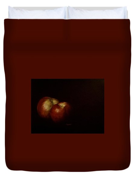 Two Nectarines Duvet Cover