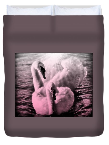 Till There Was You Duvet Cover