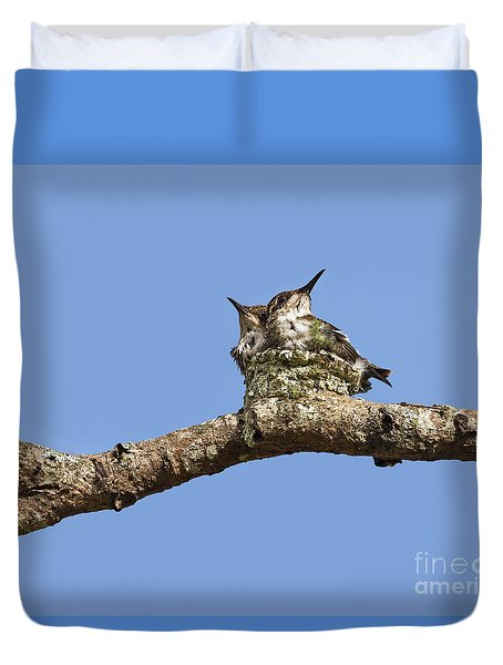 Two Of A Kind... Duvet Cover by Nina Stavlund