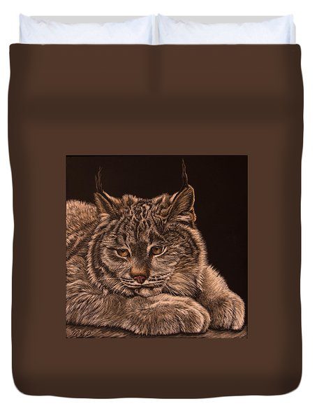 Two Paws Down Duvet Cover