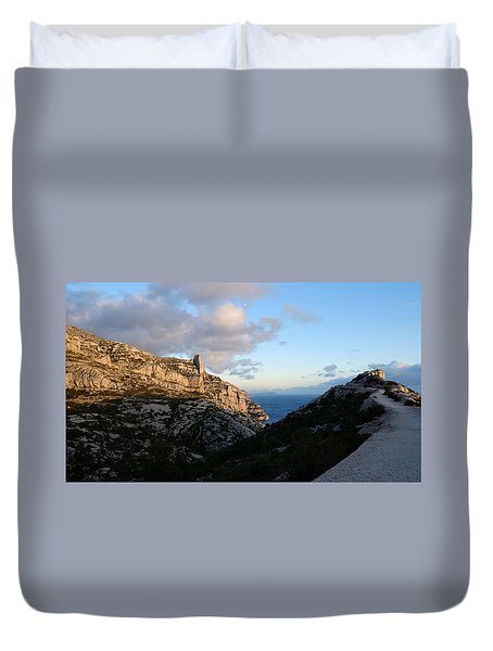 Two Point View Duvet Cover