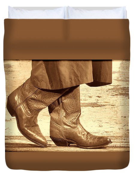 Two Step Duvet Cover by American West Legend By Olivier Le Queinec
