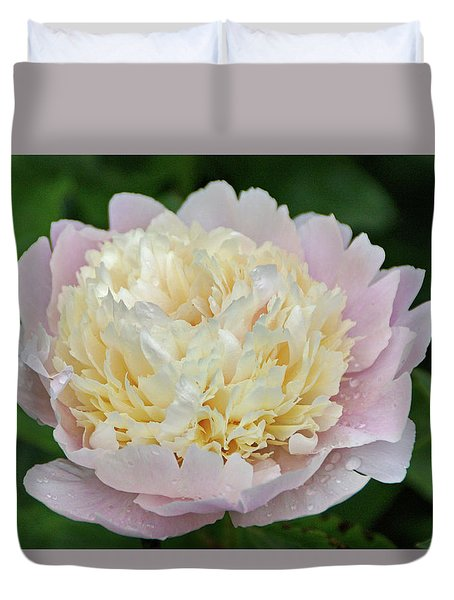 Duvet Cover featuring the photograph Two-toned by Sandy Keeton