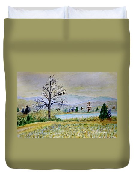 Two Tracking Duvet Cover