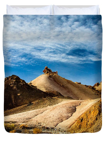 Two Tracks Canyon Duvet Cover