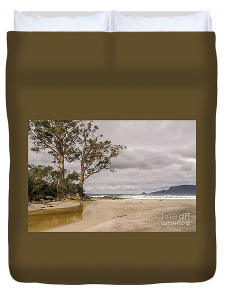 Two Tree Point Duvet Cover